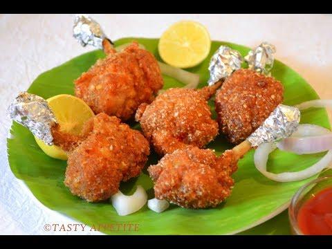 Tasty and crispy Chicken Lollipop recipe in Tamil