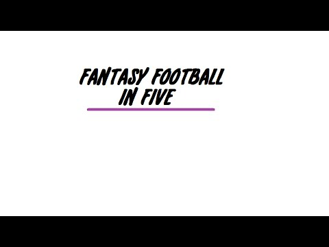One Year Special, Team Names - Fantasy Football In Five
