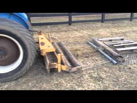 Spring pasture manure management the Dobbin way