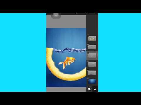 Speed art Fruit Fish Bowl [iOS]