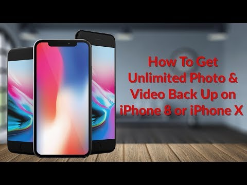 How To Get Unlimited Photo & Video Back Up on iPhone 8 or iPhone X - YouTube Tech Guy