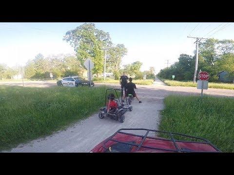 Cops Chase Bikers On Bike Path