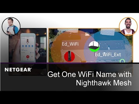 Get One WiFi Name with Nighthawk Mesh | Works with Any Router