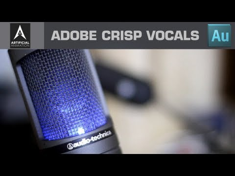 Creating crisp Vocals - Adobe Audition CS6 Vocal Editing Tutorial