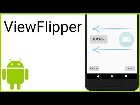 ViewFlipper - Android Studio Tutorial
