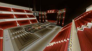 Minecraft WWE Raw Arena Speed-Build