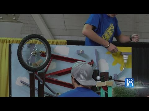 Annual Rube Goldberg competition tests student's creativeness