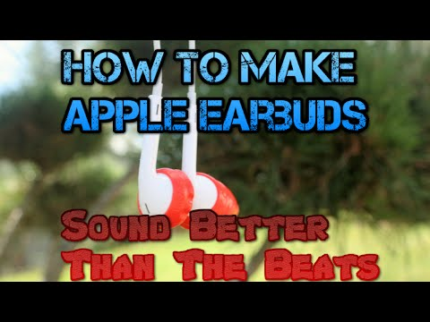 How To Make The Apple Earbuds Sound Better Than The Beats For Less Than $5