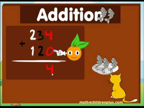 Addition for kids - 2nd and 3rd Grade math
