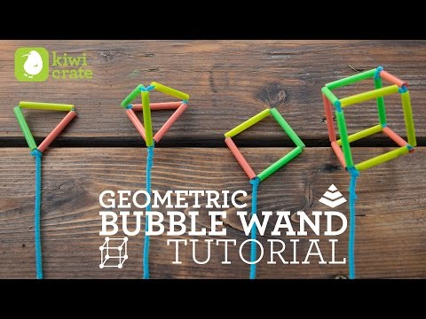 Kiwi Crate Project Instructions: Bubble Wands