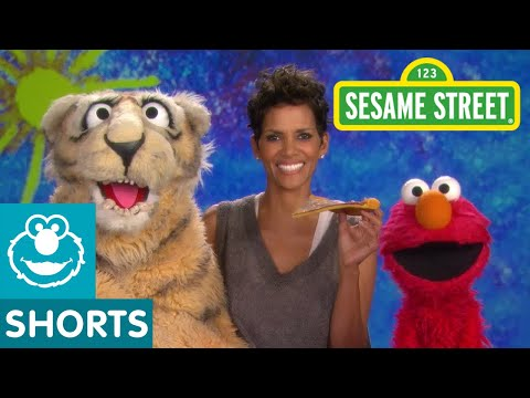 Sesame Street: Halle Berry and Elmo - Nibble