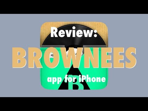 Review: Brownees App for iPhone, Turn YouTube Videos Into