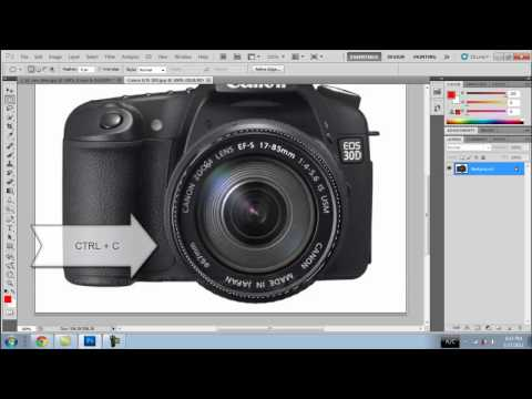 Photoshop CS5 - How to make a Camera Lens Eye (HD)