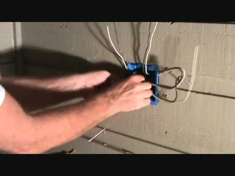 Connecting 2 electrical outlets....arranging the ground wires