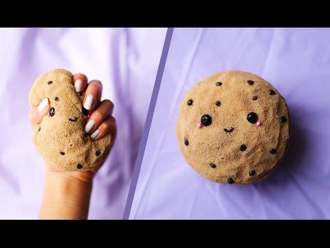 DIY Kawaii Chocolate Chip Cookie Squishy! 🍪