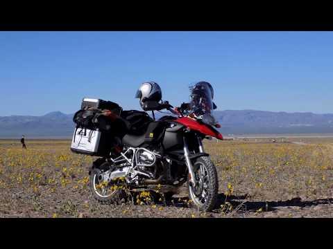Motorcycle ADV - Denver to Death Valley Ride March 2016 Super Bloom