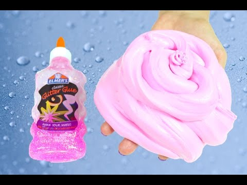 Elmer's Glue Fluffy Slime Without Borax , How to Make Fluffy Slime With Elmer's Glue No Borax