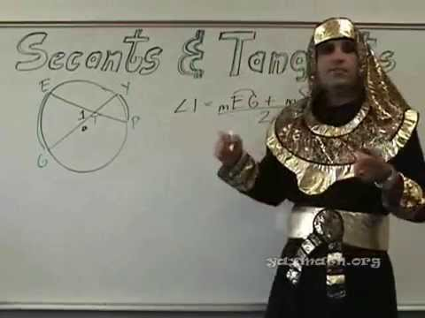 Geometry - Circles - Secants and Tangents
