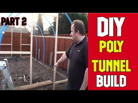 How To Build A Polytunnel Installation Part 2