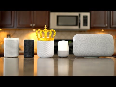Ultimate Smart Speaker Sound Comparison - HomePod | Sonos One | Google Home/Max | Echo v2