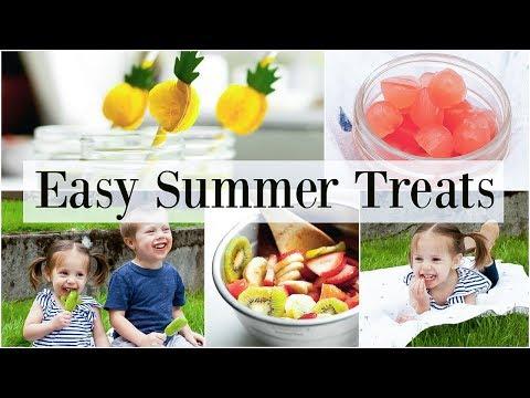 Easy Summer Treats for Kids