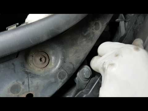 How to replace sidelight 501 bulb - Renault Scenic