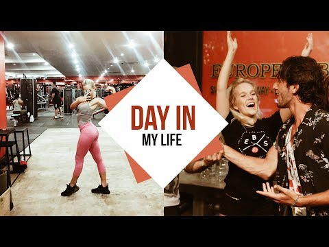 Morning (Gym) Routine + Day in My life I European Bartender School Thailand