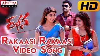 Rakaasi Rakaasi Full Video Song ||  Rabhasa Video Songs || Jr Ntr, Samantha, Pranitha