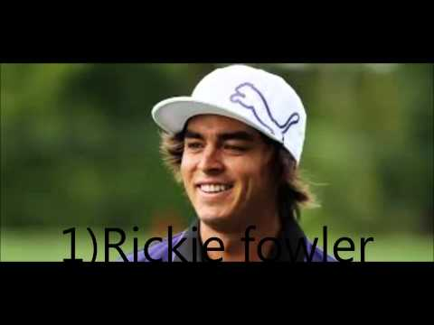 my top 5 favourite golfers and their sponsors