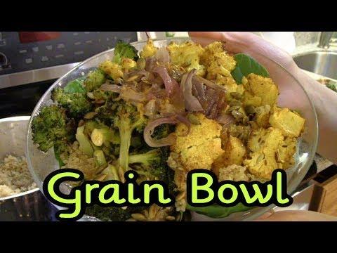 Curried Cauliflower Grain Bowl Recipe
