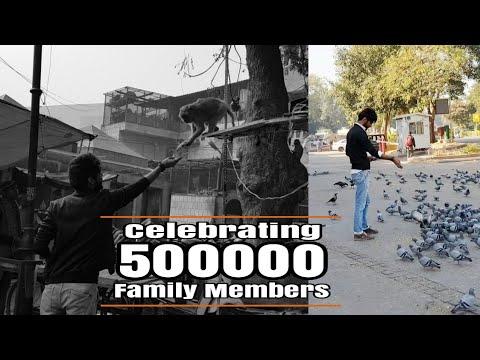Celebrating 500000 Family Members!