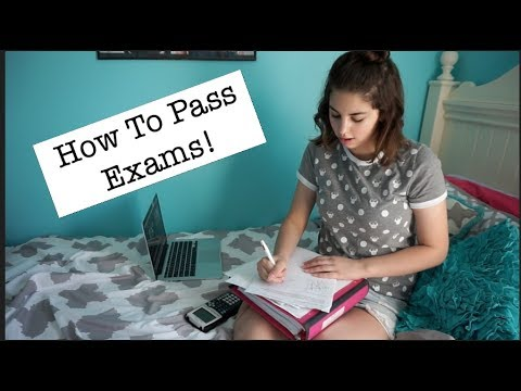 How To Pass Exams!