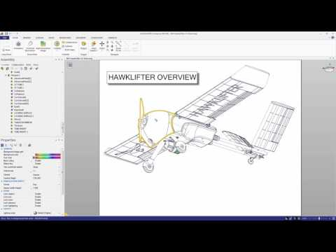SOLIDWORKS Composer: Interactive SVG's