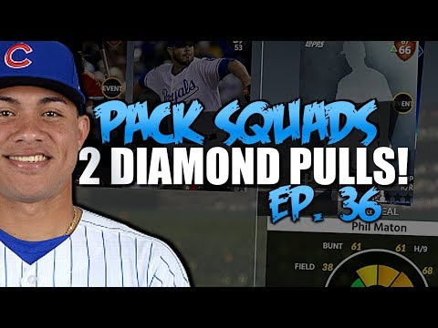 MULTIPLE DIAMOND PULLS! BEST EPISODE OF THE SEASON! MLB THE SHOW 18 PACK SQUADS #36