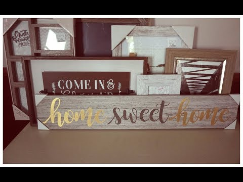 Home Decor Haul   Fall & Winter Items   New Photo Frames & Candles