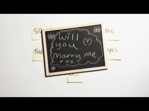 Stop Motion Wedding Proposal Video