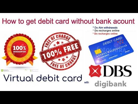 how to get ATM or Debit card without opening account in any bank ..