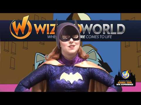 Wizard World Comic Con NYC Experience - Batman and Batgirl!