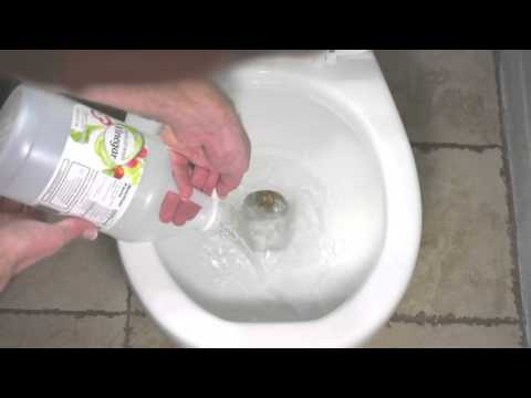 How to Remove Hard Water Buildup in Your Toilet Using Vinegar
