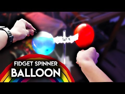 INCREDIBLE BALLOON And FIDGET SPINNER TRICKS With Jake Paul (VERY EASY)