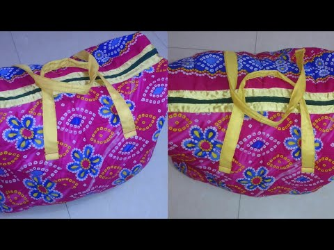 Handbag DIY | How to make handbags at home | handbag making at home
