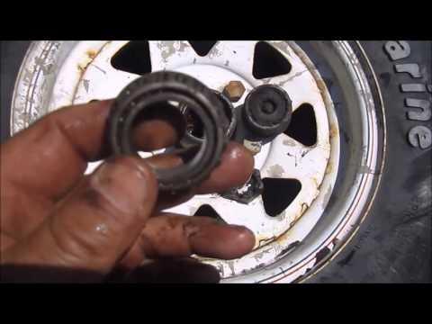 Boat Trailer Wheel Bearing Fix And Tips
