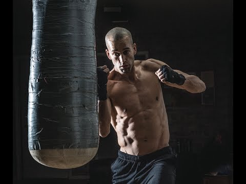 30 Minute Boxing Heavy Bag HIIT Workout. Power