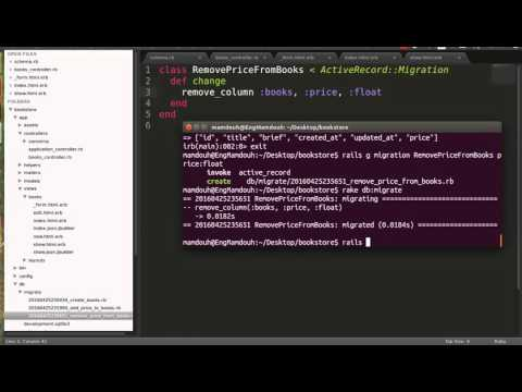 Rails Migration #6 | Removing Fields From Tables