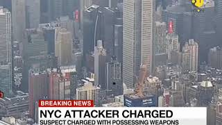 Breaking News: Police charge Bangladeshi New York attacker with terror