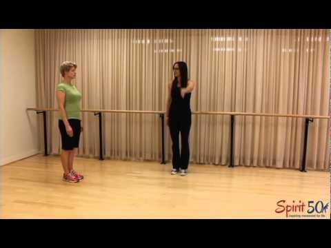 Balance and Leg Stretch Exercise