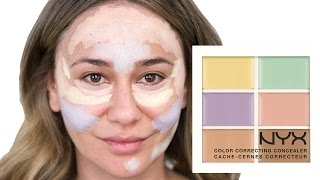 How To Use The Nyx Color Correcting Palette Get A Flawless Look