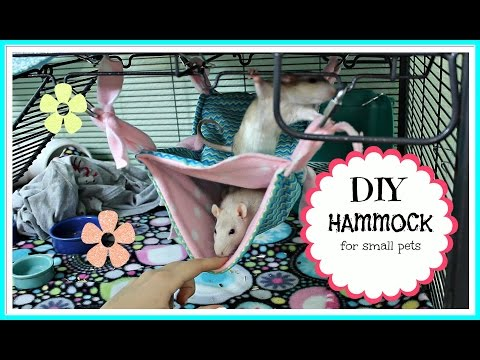 DIY Pet Hammock
