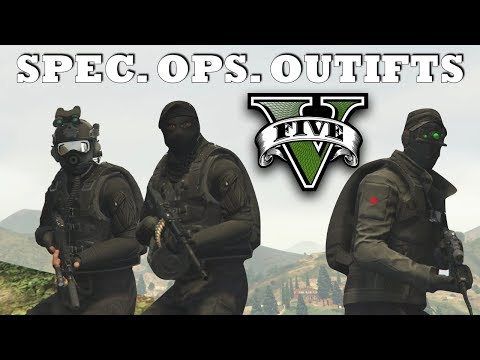 GTA V - Spec. Ops. Outfits! | New Top Military Custom Doomsday Heist Outfits