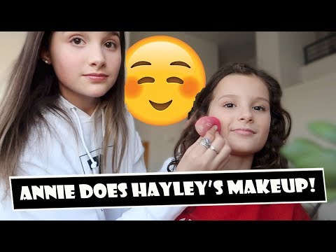 Annie Does Hayley's Makeup 😊 (WK 380)   Bratayley